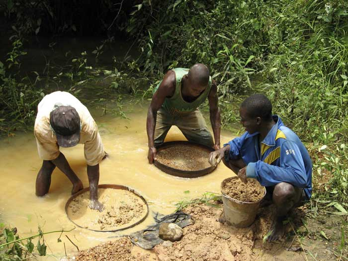 the conflict diamonds in sierra leone The west african nation of sierra leone is among the world's  in return for  blood diamonds, so-called because of their link to the conflict.